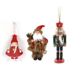 Božićni anđeli, orašari i lutkice