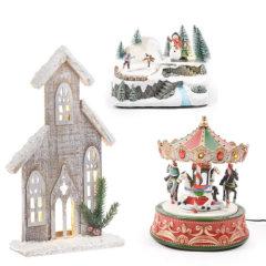 Božićne kućice, sela i crkvice