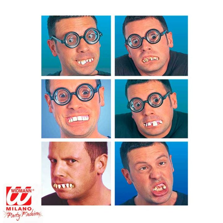 Lažni zubi za maškare