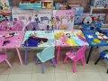 Frozen stolić drveni za djecu