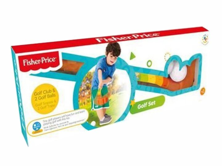 GOLF SET FISHER PRICE 17,3 X 52,5 X 5 CM