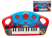 ULTIMATE SPIDERMAN PIANO NA BATERIJE - KUTIJA 40x24,5x6,5 CM