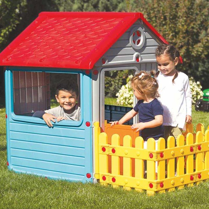 Kućica za igru sa ogradom