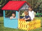 KUĆICA ZA IGRU SA OGRADOM - MY FIRST HOUSE 132x158x104 CM