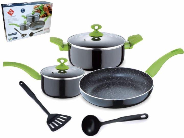 7 dijelni set posuđa za kuhanje