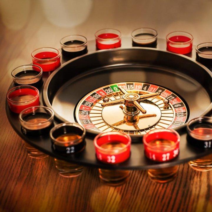 pokloni za Božić - rulet s čašicama