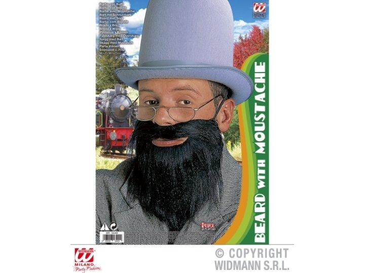 Maska s bradom i brkovima