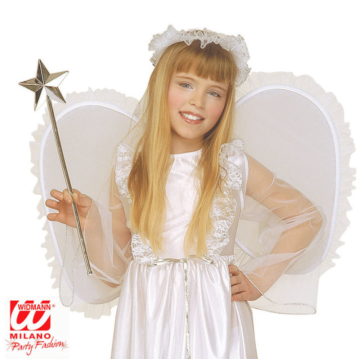 Kostim anđela s krilima i aureolom 128 cm