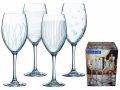 Dekorirane čaše na stalku za vino | Lounge Club, set 4/1