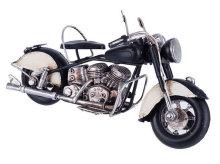 MOTOR DEKORACIJA 19x8x11 CM - METALNI CRNI