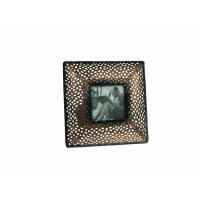 OKVIR ZA SLIKU - METALNI PERFORIRANI RUB 23,5x19,5 CM ( FOTO 15x10 CM )