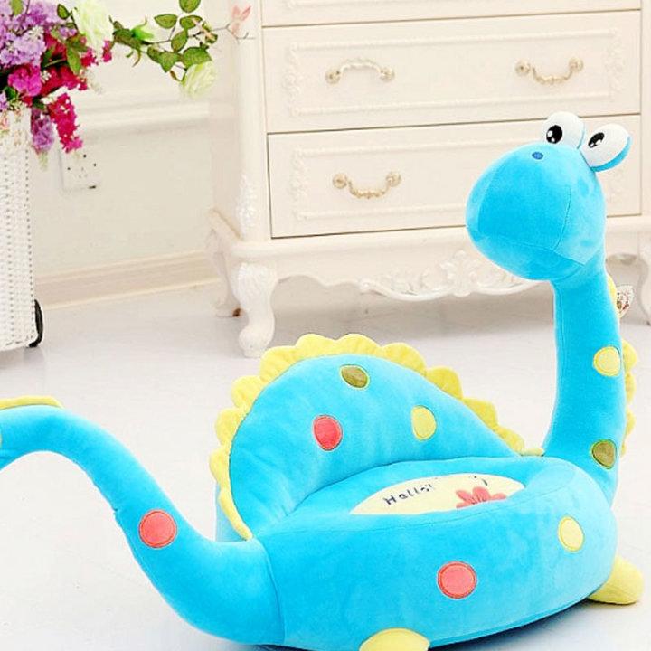 Dječja fotelja - Dinosaur plavi