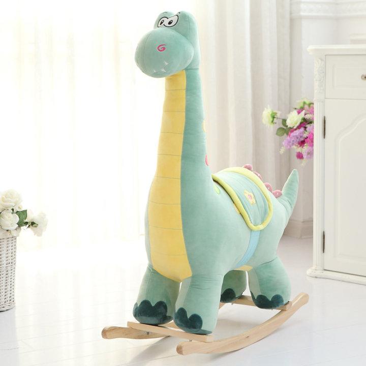 Plišana ljuljačka dinosaur, s ručkama