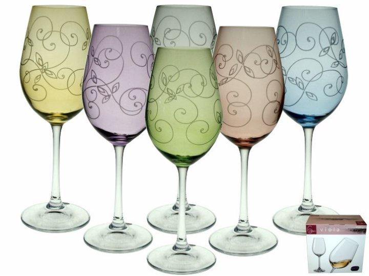čaše kristalin vino