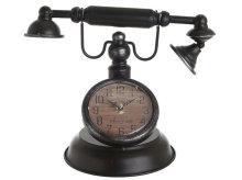 SAT STOLNI METALNI TELEFON CRNI 31x24x8 CM