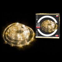 BOŽIĆNE LAMPICE U CRIJEVU 10 M TURBO LED HLADNO-BIJELE S FUNKCIJAMA