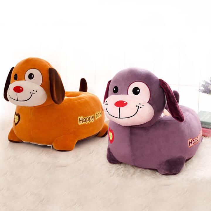 Plišani pas dječja fotelja