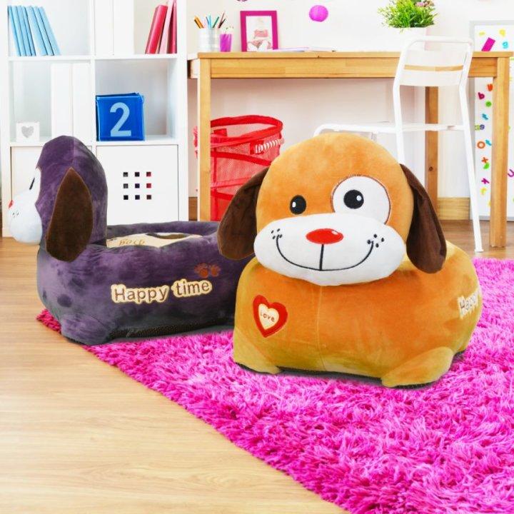 Plišana foteljica pas igračka