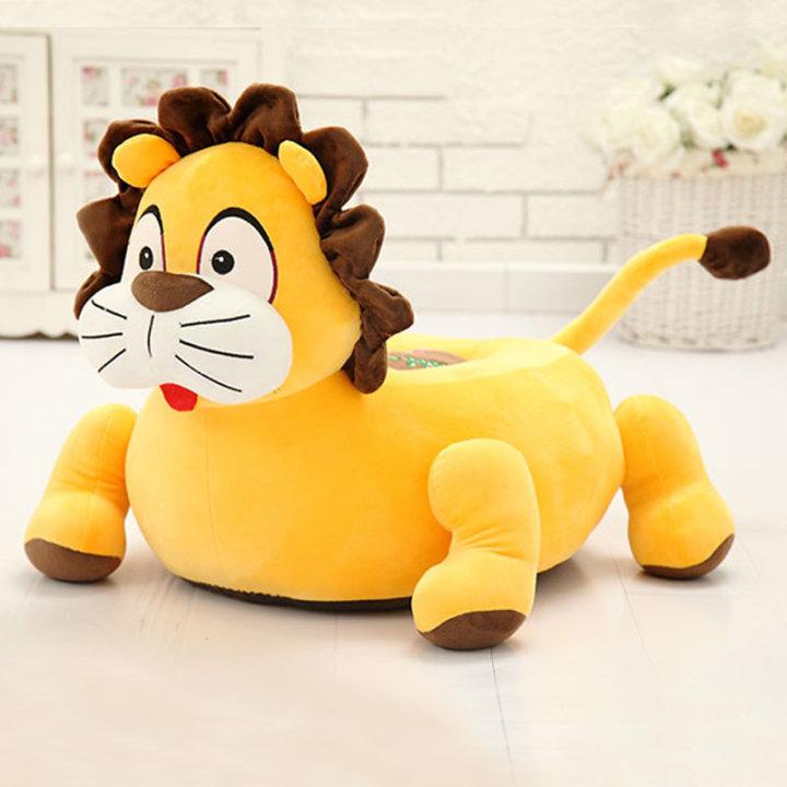Dječja plišana fotelja lav