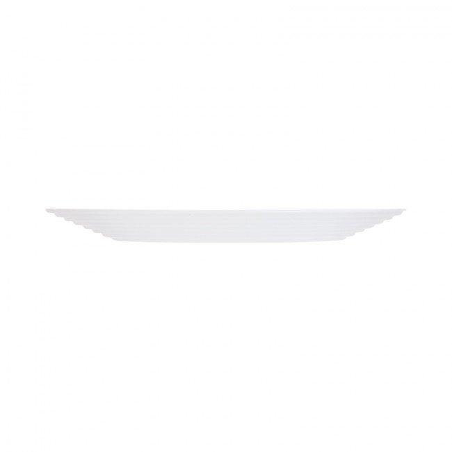 harena crno bijeli tanjuri