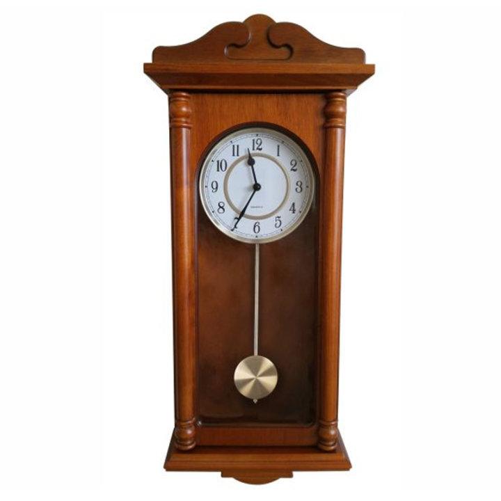 Zidni sat s klatnom drveni