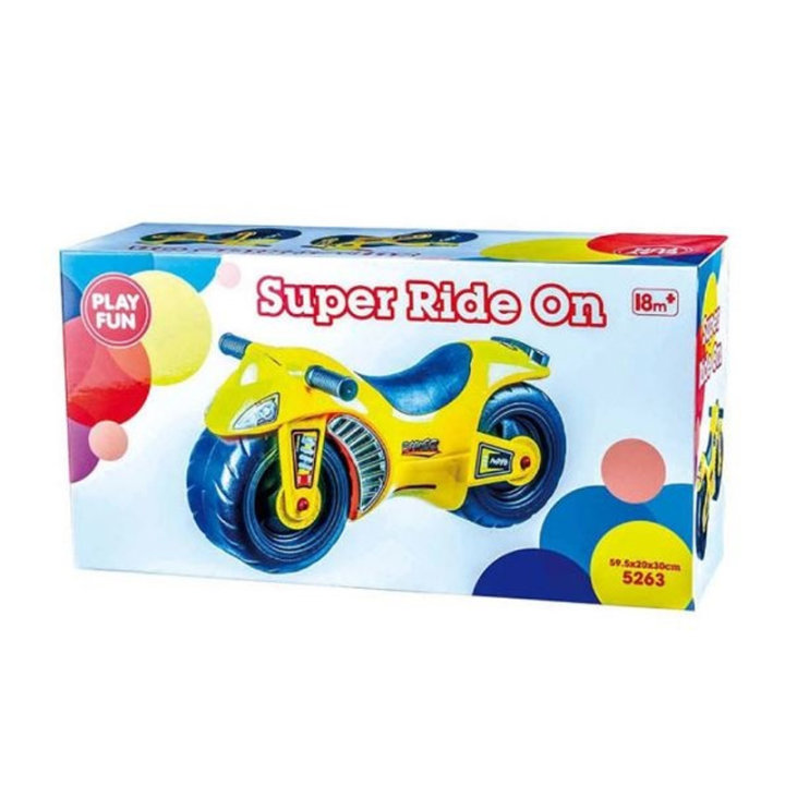 MOTOR GURALICA - SUPER RIDE ON 60x35x20 CM