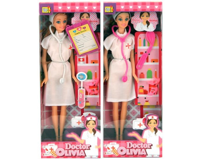 Lutka Doktorica Plivia s priborom