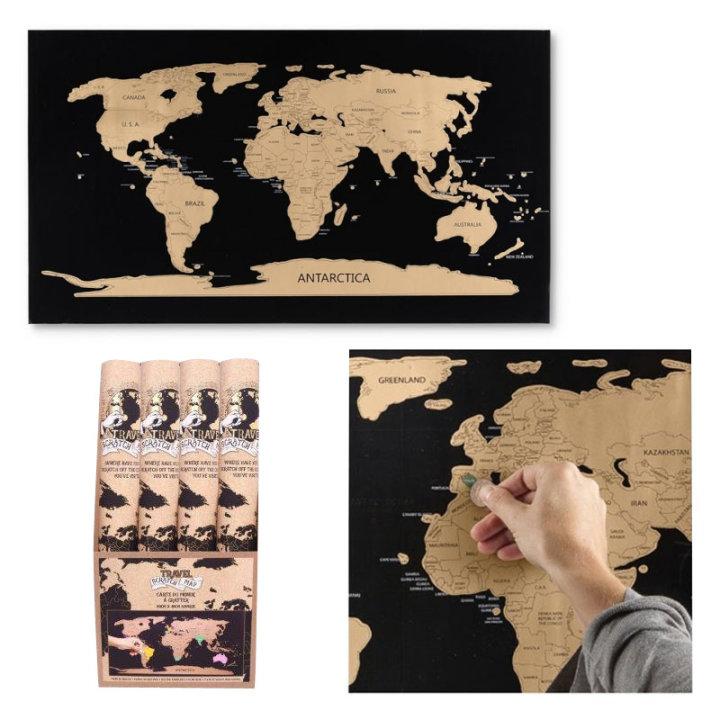 Karta svijeta my travel map