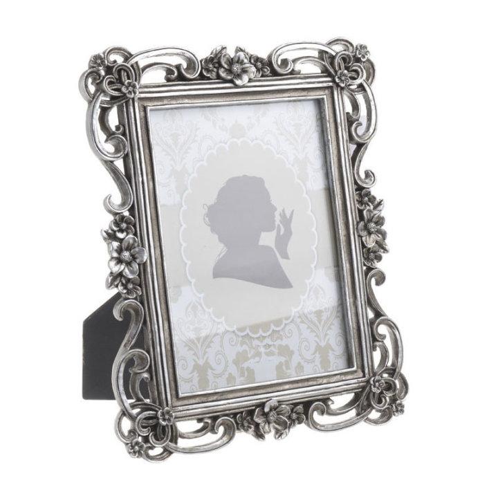 Okvir za sliku Polyresin antik srebrni 13x18 (24,5x19 cm)