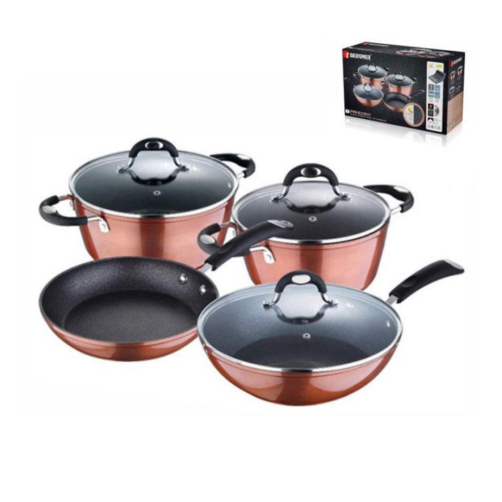 Sedam dijelni set posuđa za kuhanje - Pandora serija