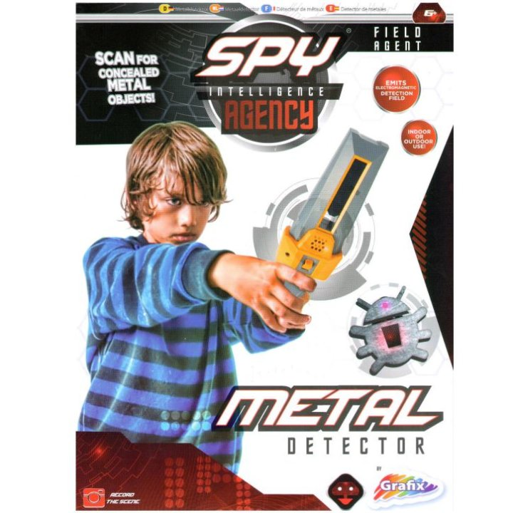Detektor metala set Spy Agency