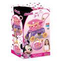 Minnie Mouse kolica i košarica za kupovinu 2u1 34x36 cm