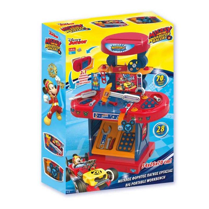 Mickey Mouse stolić s alatom dječji 28 dijelni, 70x54x26 cm