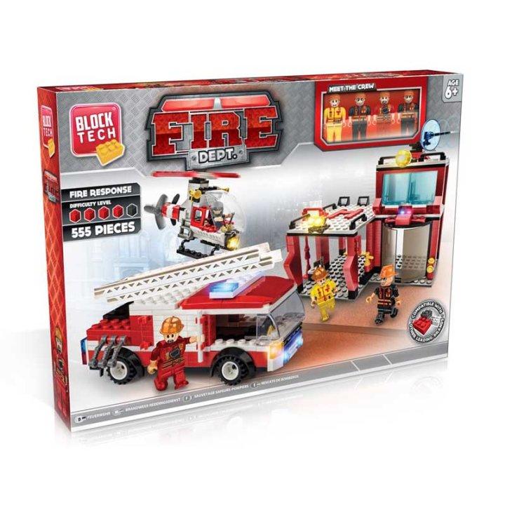 Kocke vatrogasci 555 dijelne
