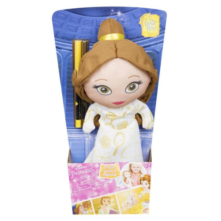 Princess lutka krpena i boje za bojanje haljine