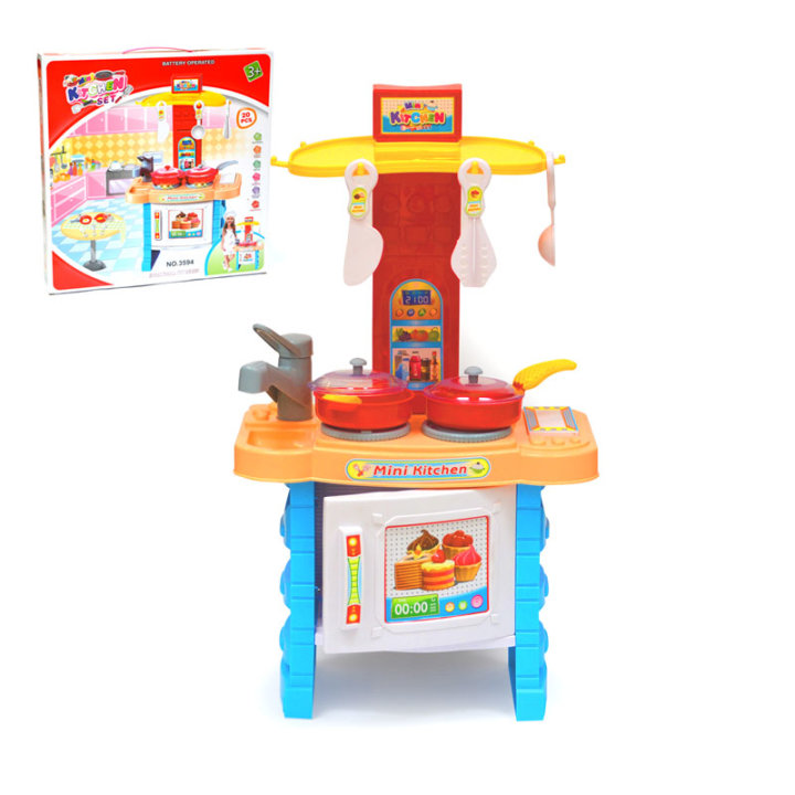 Dječja kuhinjica za igru sa zvukom i svjetlom