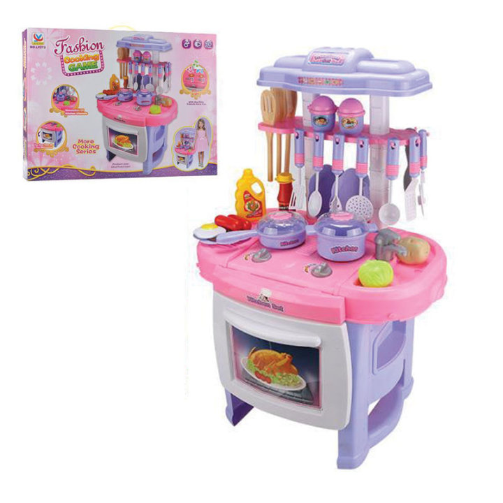 Kuhinja dječja za igru sa zvukom - 42 x 27 x 62 cm