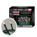 Žaruljice za bor mini LED 180/1 multicolor s funkcijama vanjske