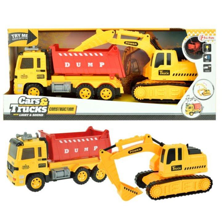 Dječji kamioni i bageri