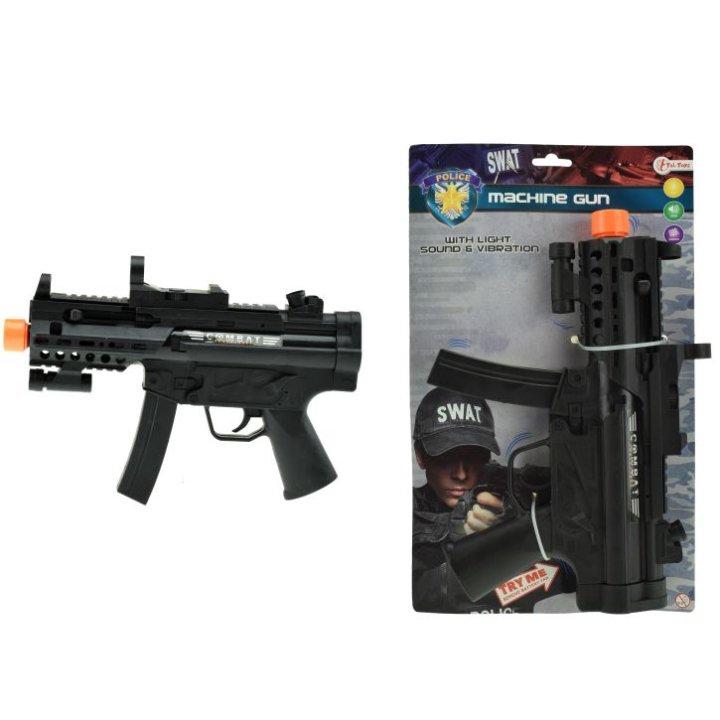 Puška za igru mp-15 sa zvukom, svjetlom i vibracijom