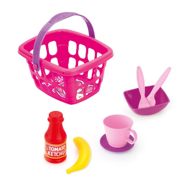 Košarica za piknik s priborom - Jednorog