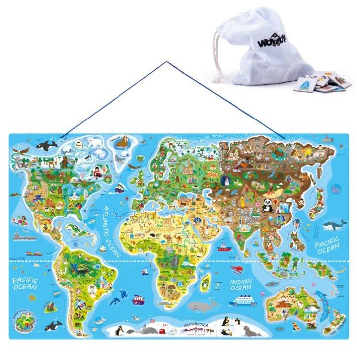 Edukativna karta svijeta