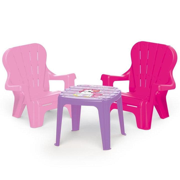 Jednorog stol i stolice