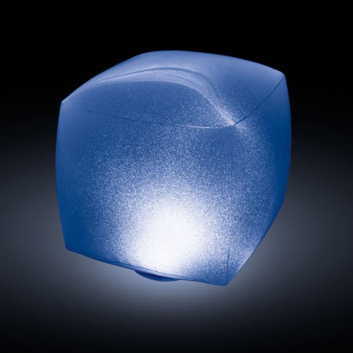 LED LAMPICA PLUTAJUĆA ČETVRTASTA 23x23x22 CM
