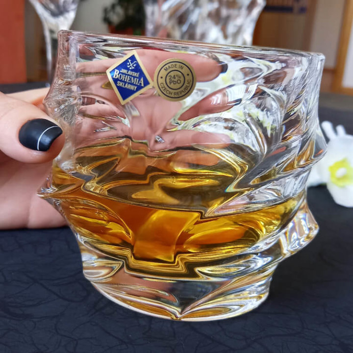 ČAŠE KRISTAL CALYPSO WHISKEY 6/1 300 ML