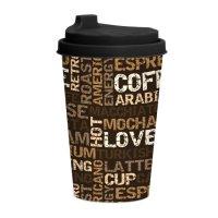 ŠALICA S POKLOPCEM COFFEE 340 ML
