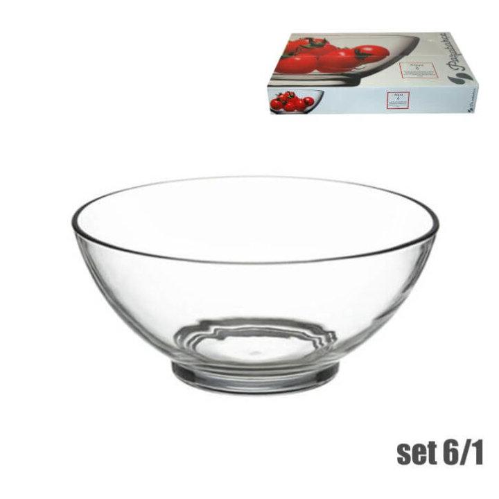 zdjellice aqua staklene 6/1 13 cm