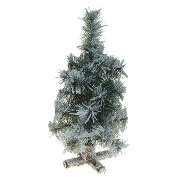 božićno drvce sa snijegom mini 35 cm