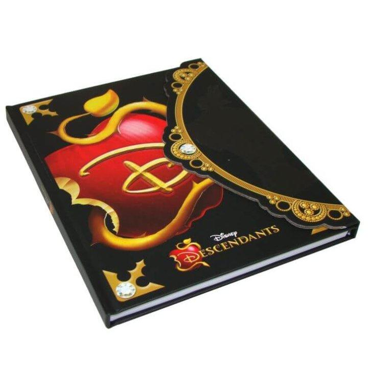 disney descendants tajni dnevnik 22x17,5 cm