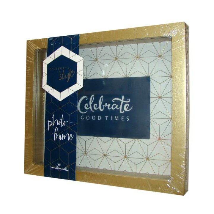 okvir za sliku hallmark zlatni - celebrate 22x19 cm